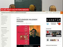 Első Pesti Egyetemi rádió - rengeteg előadás mp3 hangalapokon